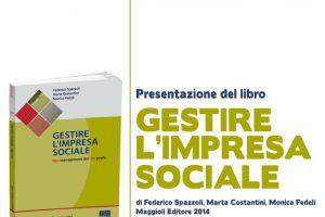 "Presentazione ""Gestire l'impresa sociale"" | Diretta"